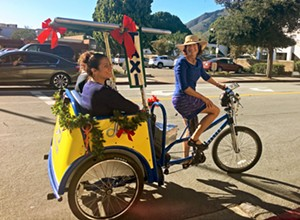 Pedaling to get around: SLOCo. Pedal Taxi
