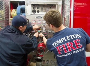 Templeton could soon vote to fund its fire department, county opted not to help