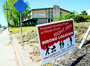 Homeless project may not end up at Hillside Church