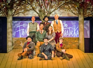 SLO Repertory Theatre's production of <b><i>The Fantasticks</i></b> hits all the right notes