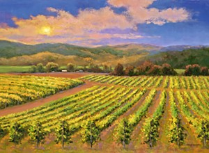 Orcutt-based painter Sheryl Knight focuses on the Central Coast's signature sceneries