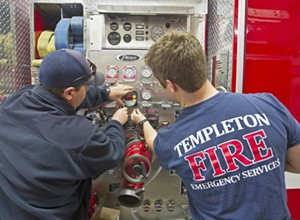 Templeton will begin searching for a full-time fire chief