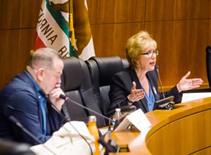 Hill and Korsgaden clash over housing, dunes, civility at <b><i>New Times</i></b> forum