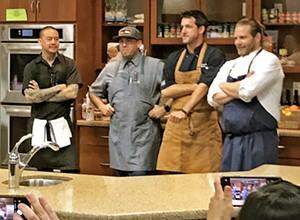 The Enjoy SLO Chef Showdown challenged some of Central Coast's best to make miracles from hellish anti-food items