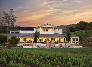 Justin Vineyard & Winery founder Justin Baldwin takes tasters on a virtual wine tour, historical narrative included