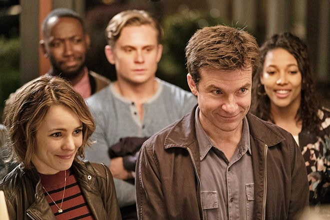 39 game night 39 is an amusing and farcical black comedy that for Farcical black comedy