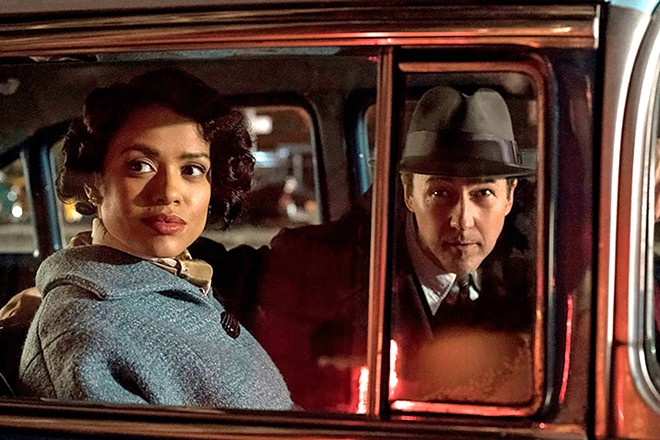 Motherless Brooklyn is a deliciously complicated neo-noir crime mystery - New Times SLO