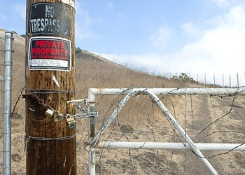 Fencing furor: As a popular hiking trail is fenced off, stakeholders clash over land-use rights