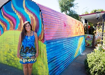 A colorful garage prompts an eviction threat at the Santa Margarita Mobile Home Park