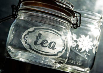 Make a lasting impression: Learn how to personalize just about any glass gift with this step-by-step etching guide