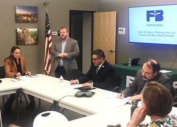 Salud Carbajal talks H-2A program changes with farmers