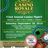 second annual Casino Night @ SLO Brew Rock