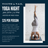 Yoga Night at the Castle @ Tooth and Nail Winery