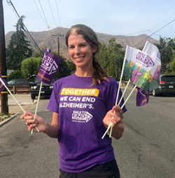 This year's Walk to End Alzheimer's is everywhere - Uploaded by Janelle Boesch