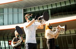 Mustang Band Rehearsal - Uploaded by music 1