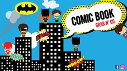 Comic Book Kits Grab and Go - Uploaded by Mary Housel