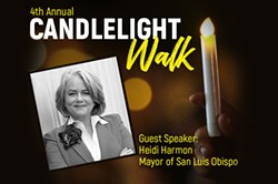 Andrew Holland Foundation presents the 4th Annual Candlelight Walk with guest speaker Mayor Heidi Harmon - Uploaded by Robin Smith