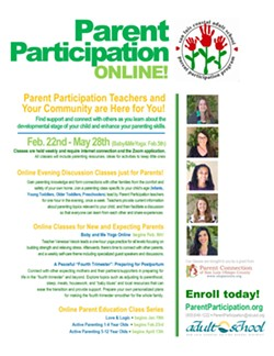 Weekly Online Parent Participation Classes - enroll at parentparticipation.org - Uploaded by Denise Jenkins