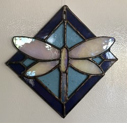 stained glass suncatcher - Uploaded by Lisa R Falk
