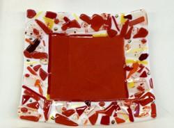 fused glass bowl - Uploaded by Lisa R Falk