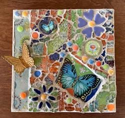 Learn tempered glass mosaic basics. - Uploaded by Joan Martin Fee