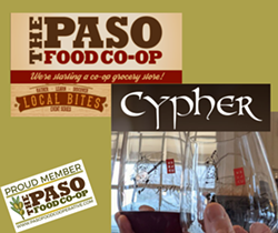 Local Bites, April 22, 4-7pm, Become an owner - Uploaded by Paso Food Cooperative