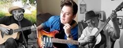 From left: Paul Hayward, Josh Rosenblum, Steve Key. May 8 at Sculpterra Winery - Uploaded by Steve J. Key