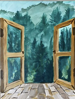 """""""A View To The Pines"""" - Uploaded by Stash Local Goods"""
