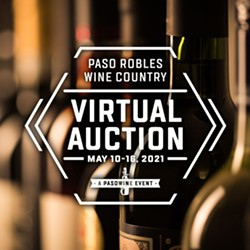 Paso Robles Wine Country Virtual Auction - May 10-16, 2021 - Uploaded by Carol Yeaman-Sanchez