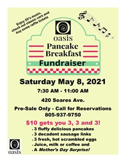OASIS Pancake Breakfast Fundraiser - Uploaded by Amy Downing Lammert