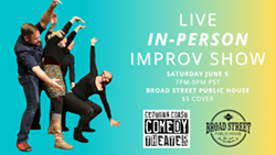 Live, In-Person Improv Show June 5! - Uploaded by Beth Bolyard