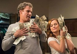 PHOTO COURTESY OF WARNER BROS. PICTURES - GAMBLE Two financially strapped parents (Will Ferrell and Amy Poehler) start a secret casino in their basement to pay for their daughter's college tuition in The House.
