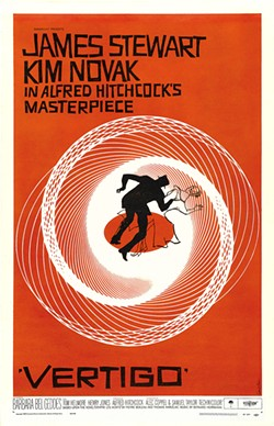 """PHOTO COURTESY OF UNIVERSAL PICTURES - SAN FRAN CLASSIC Alfred Hitchcock's Vertigo is as much a gorgeously shot depiction of the """"City by the Bay"""" as it is an iconic psychological thriller."""