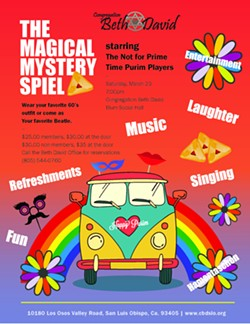The Magical Mystery Spiel - Uploaded by Congregation Beth David