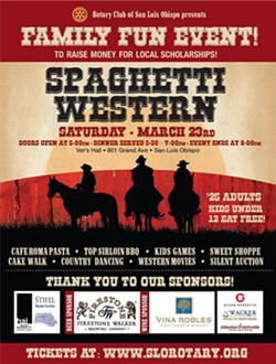 Spaghetti Western Fundraiser - Rotary Club of SLO - Uploaded by Jessica Micklus 1