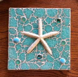 Learn how to create a gorgeous tempered glass mosaic. - Uploaded by Joan Martin Fee