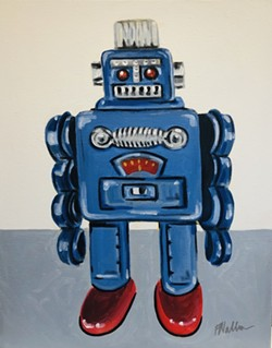 Toy Robot by Frank Walker - Uploaded by cambria library