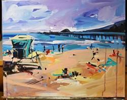 Summertime in Avila Beach - Uploaded by Art Central 1