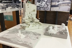 Danial Mahfoud's thesis project, Solid Space, was one of the nearly 150 projects featured at the 2018 Cal Poly Fifth-Year Architecture Thesis Showcase. His project proposed a new form of urban space for Los Angeles in which diverse social, economic and political constituencies are radically integrated. - Uploaded by CAED Events