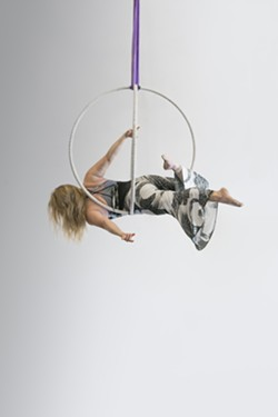 Learn to fly in the Aerial Sphere at the Aerial Sphere Workshop at Levity Acedemy from 6-8 p.m. on July 26 - Uploaded by Jamie Relth
