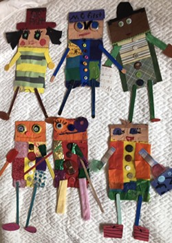 Aubree's Paper Puppet Series - Uploaded by Lori Wolf Grillias