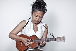 Aireene Espiritu in Concert at Morro Bay Wine Seller! - Uploaded by Kathryn Raine