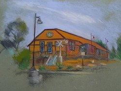 The freight house - Uploaded by David Weisman