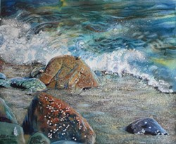 """""""Surf on Stones"""" - Uploaded by Mari O'Brien"""