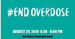 SLO Overdose Awareness Event - Uploaded by Kim Lacey