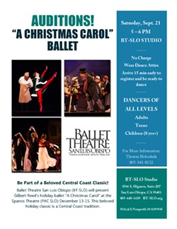 BT-SLO Christmas Carol Auditions - Uploaded by Blair London