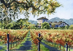 """Vineyard Home"" - Uploaded by Mari O'Brien"