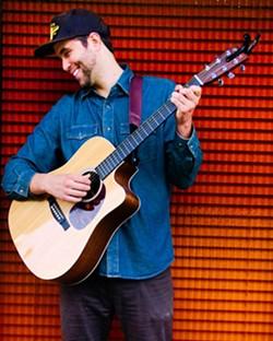 Kevin Graybill live at Branch Street Deli on September 25. - Uploaded by Kathryn Raine