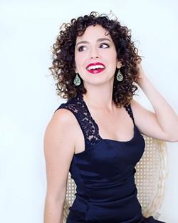 Alba Franco Cancel sparkles - Uploaded by Janet Lester