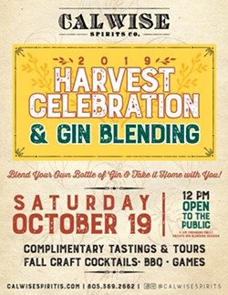 Calwise Spirits Co. hosts Harvest Celebration & Gin Blending - Uploaded by Calwise Spirits Co.